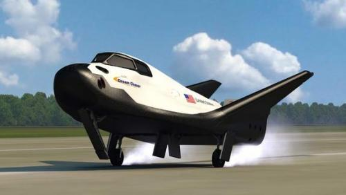 Dream Chaser vehicle landing pic