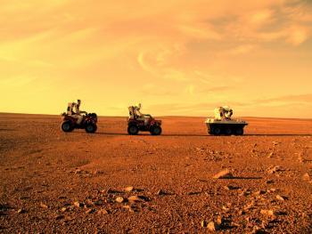 Men on Mars Picture