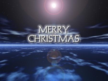 Merry Christmas in Space Picture