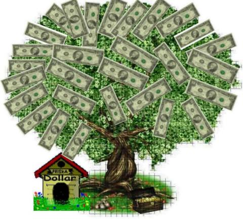 money doesn't grow on trees picture
